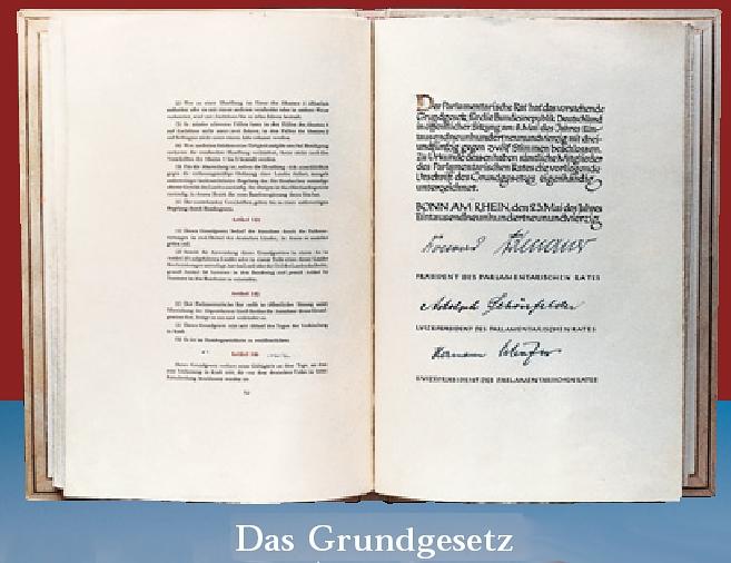 60 Jahre Deutsches Grundgesetz